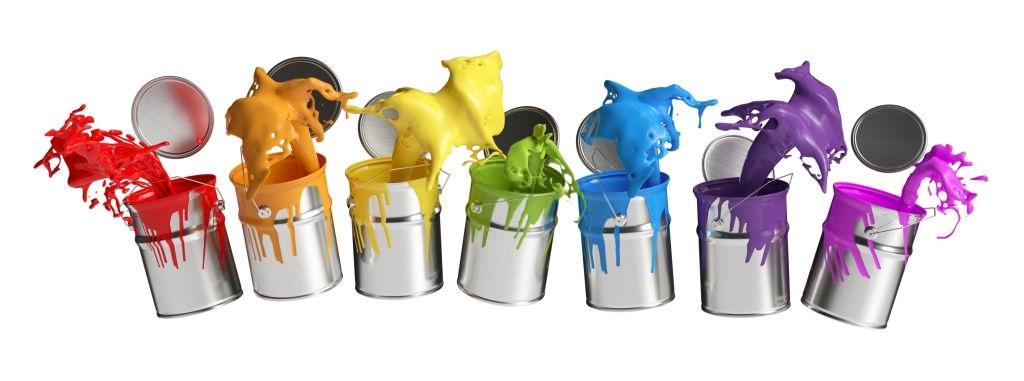 colores de pintura