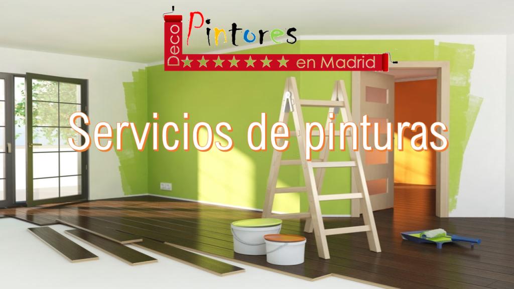 Servicios de pinturas en Madrid