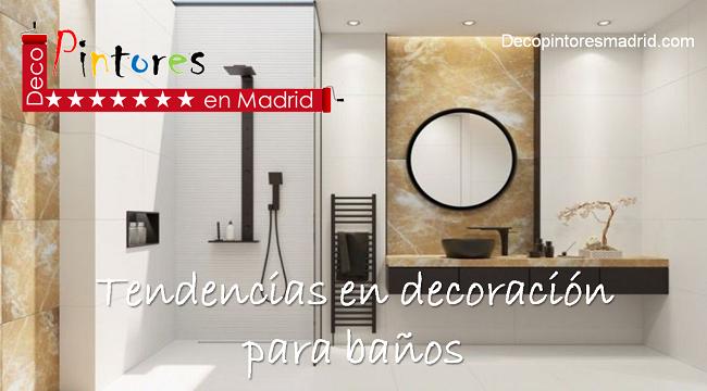 tendencias en decoración para baños